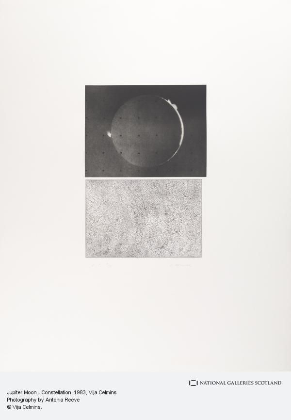 Vija Celmins, Jupiter Moon - Constellation (1983)
