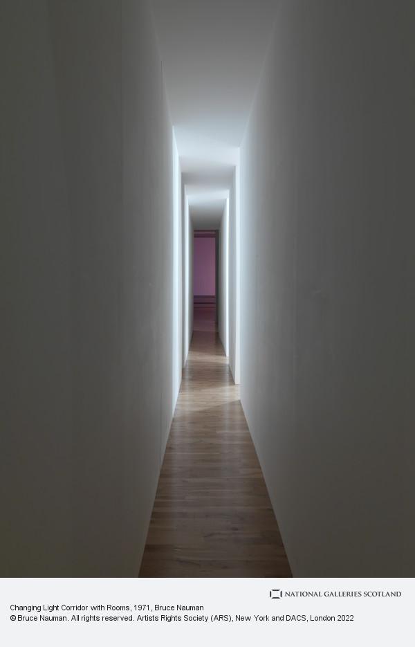 Bruce Nauman, Changing Light Corridor with Rooms