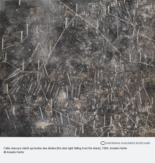 Anselm Kiefer, Cette obscure clarté qui tombe des étoiles [the dark light falling from the stars]