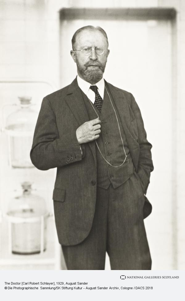 August Sander, Physician [Carl Robert Schlayer], 1929 (1929)