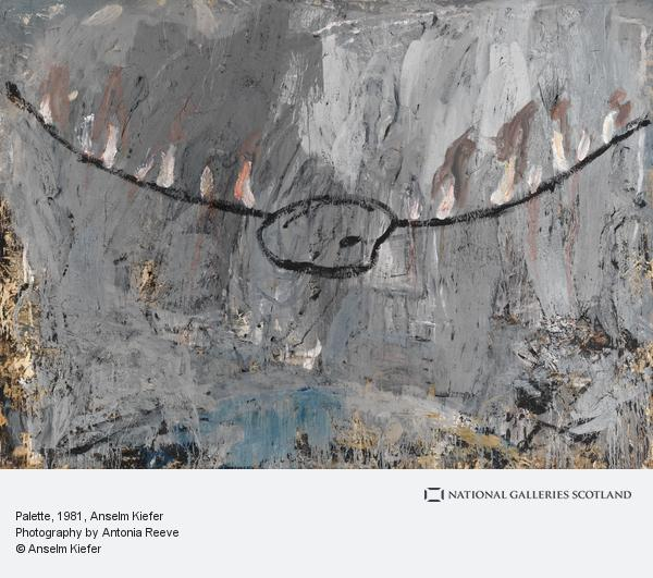 Anselm Kiefer, Palette