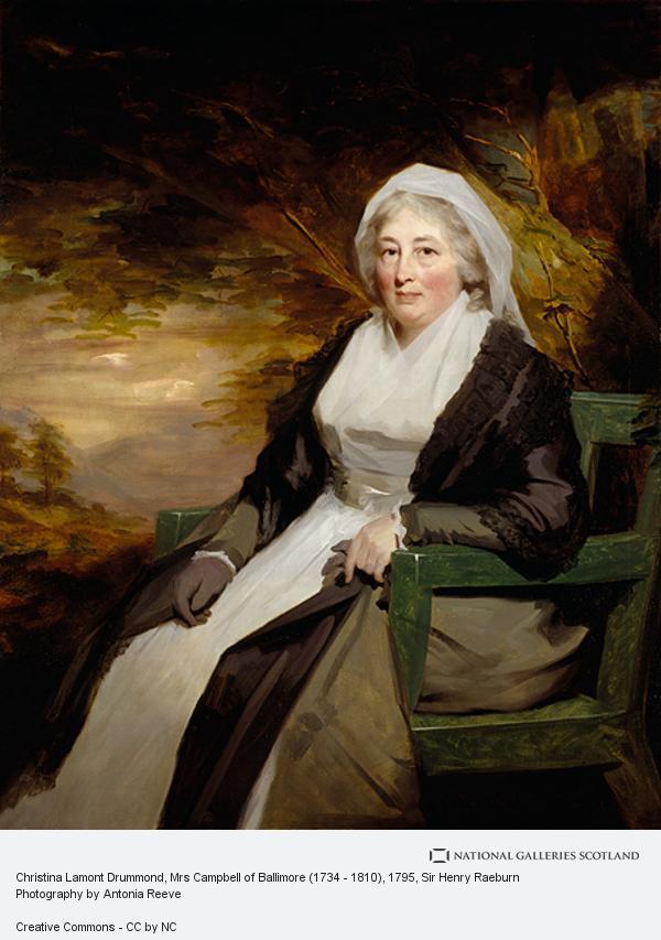 Sir Henry Raeburn, Christina Lamont Drummond, Mrs Campbell of Ballimore (1734 - 1810)