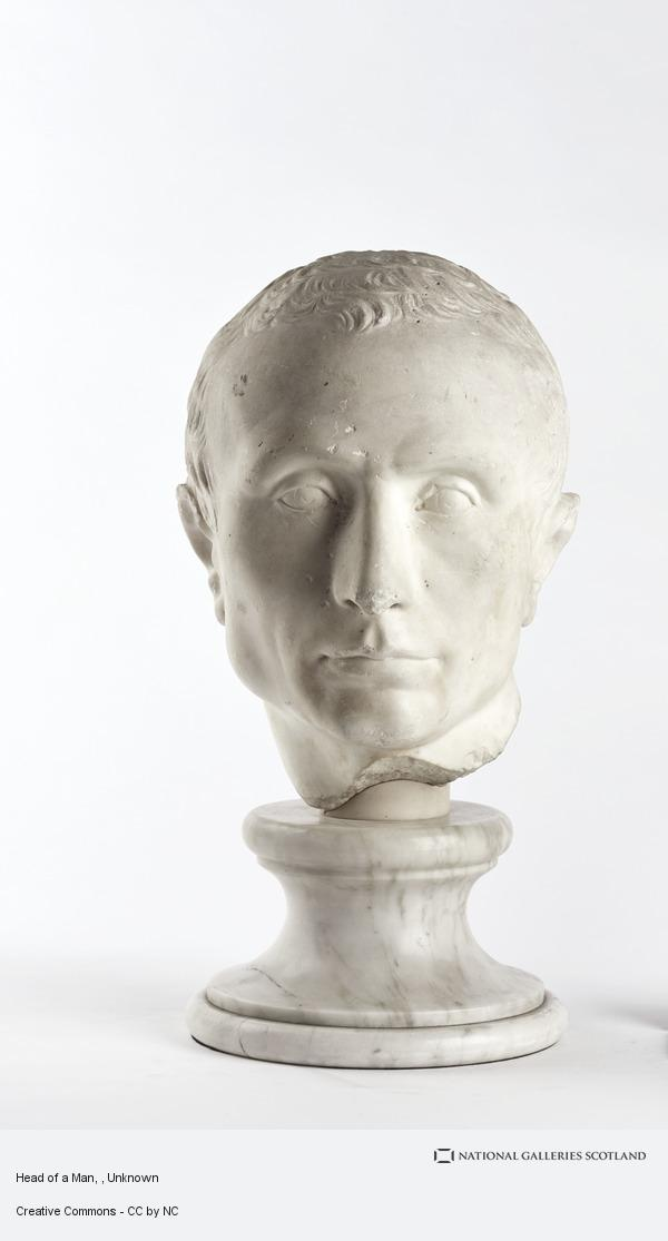 Unknown, Head of a Man