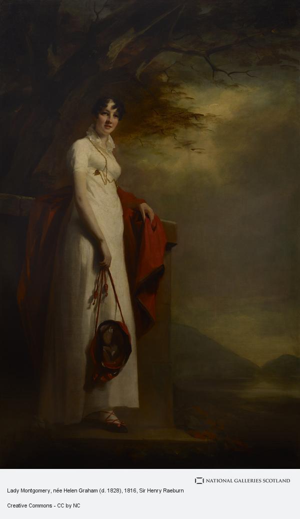 Sir Henry Raeburn, Lady Montgomery, née Helen Graham (d. 1828)