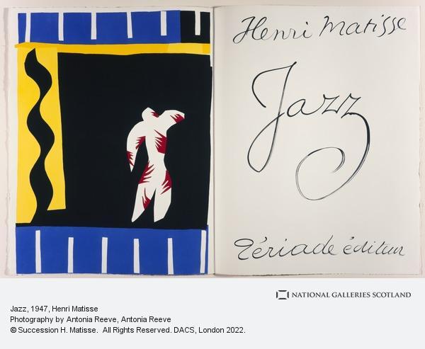 Henri Matisse, Jazz