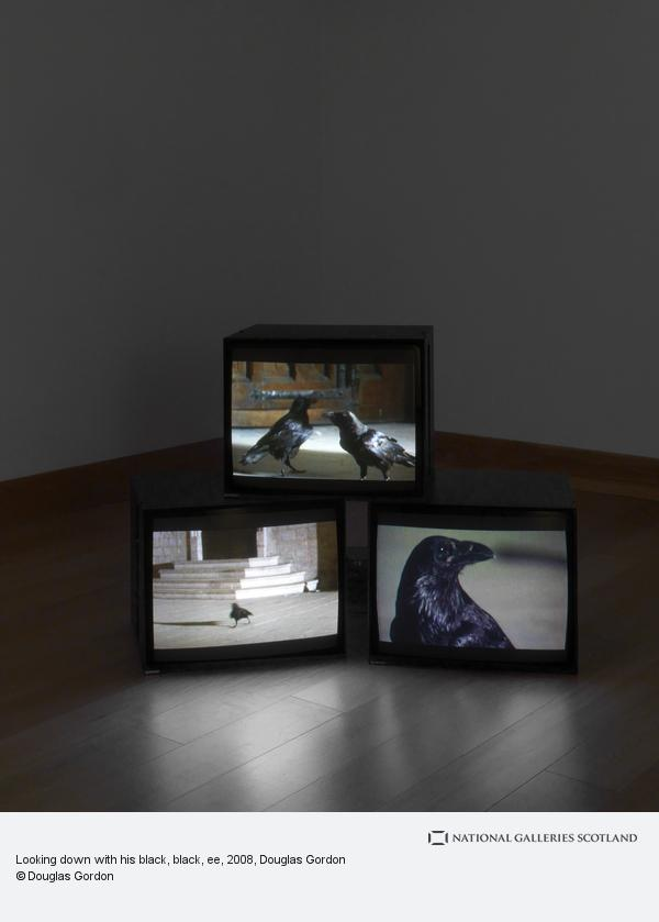 Douglas Gordon, Looking down with his black, black, ee