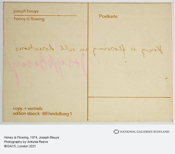Joseph Beuys, Honey is Flowing