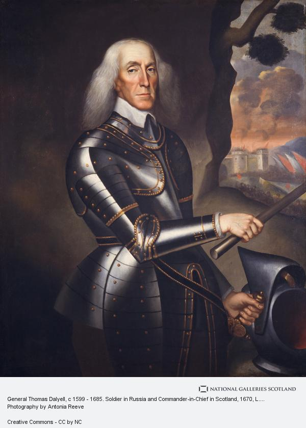 L. Schuneman, General Thomas Dalyell, c 1599 - 1685. Soldier in Russia and Commander-in-Chief in Scotland (About 1670)