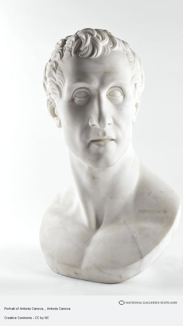 Antonio Canova, Portrait of Antonio Canova