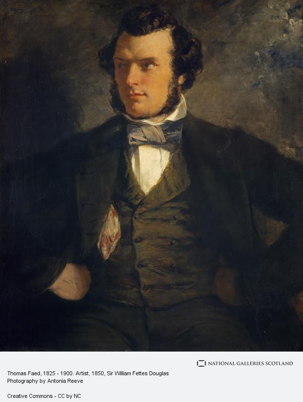 Sir William Fettes Douglas, Thomas Faed, 1825 - 1900. Artist