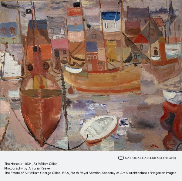 Sir William Gillies, The Harbour (About 1934 - 1937)