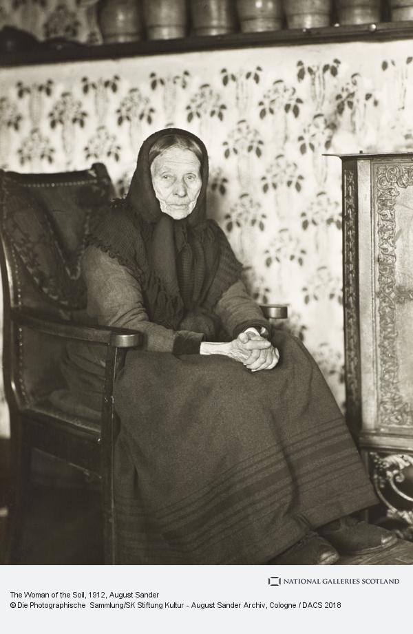 August Sander, The Woman of the Soil (1912)