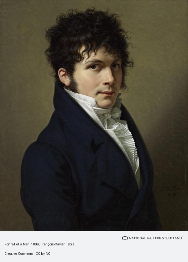 François-Xavier Fabre, Portrait of a Man