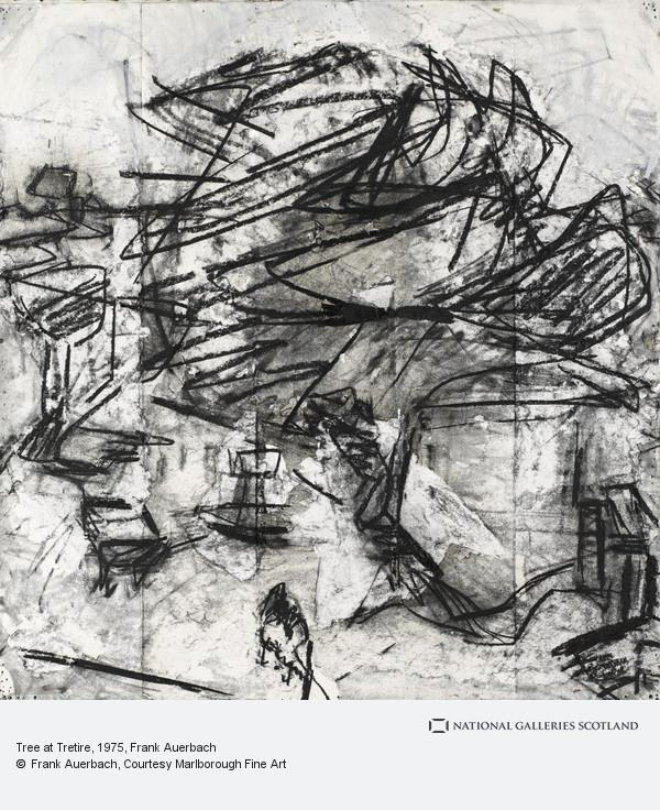 Frank Auerbach, Tree at Tretire