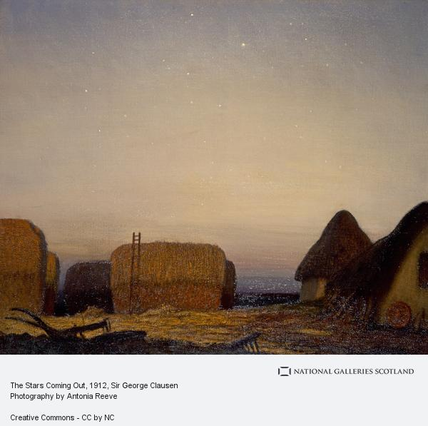Sir George Clausen, The Stars Coming Out