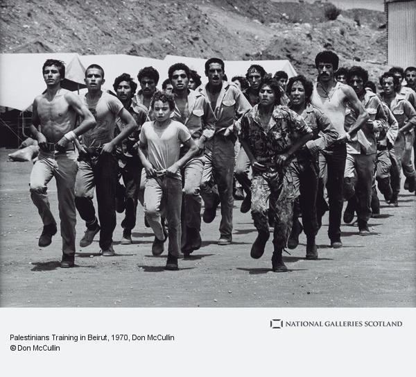 Don McCullin, Palestinians Training in Beirut