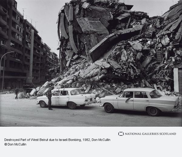 Don McCullin, Destroyed Part of West Beirut due to Israeli Bombing