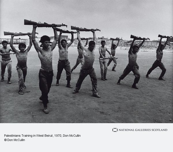 Don McCullin, Palestinians Training in West Beirut