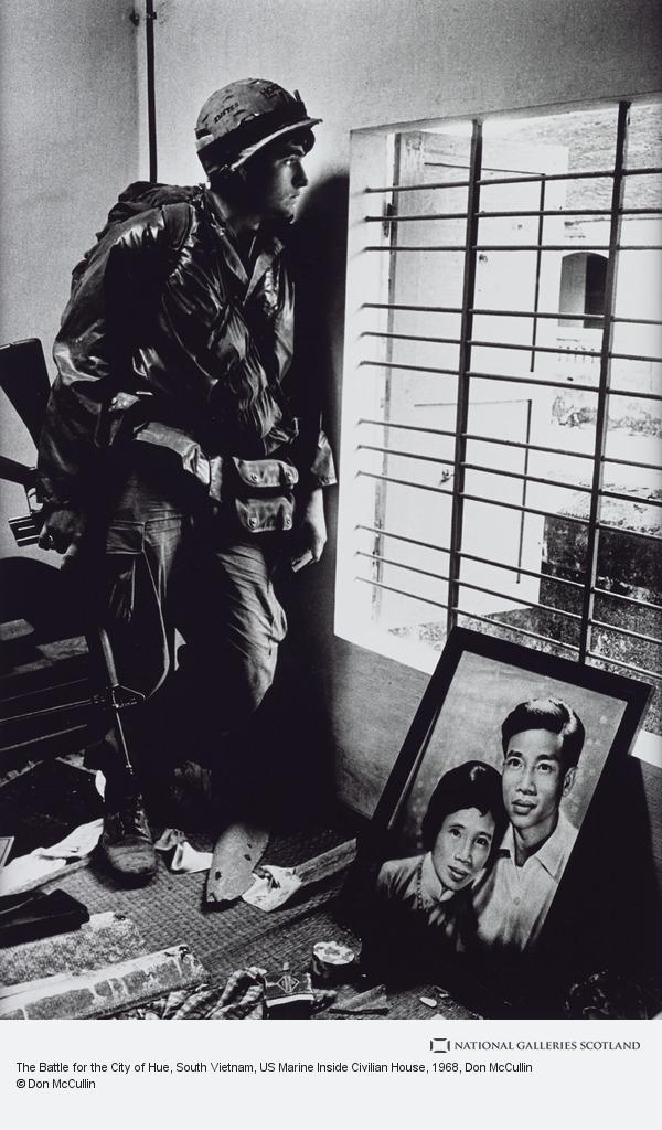 Don McCullin, The Battle for the City of Hue, South Vietnam, US Marine Inside Civilian House