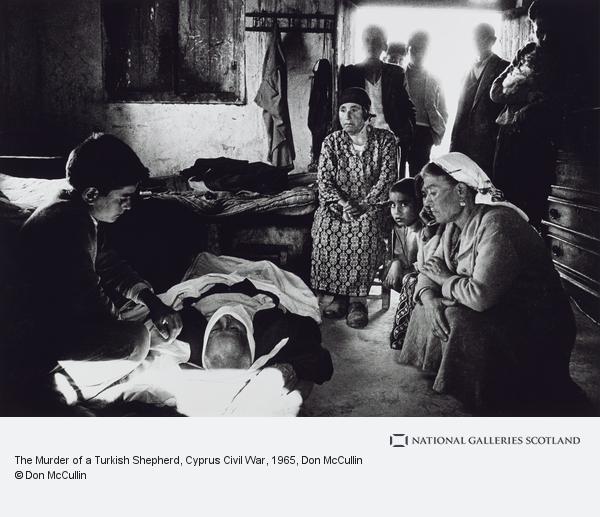 Don McCullin, The Murder of a Turkish Shepherd, Cyprus Civil War