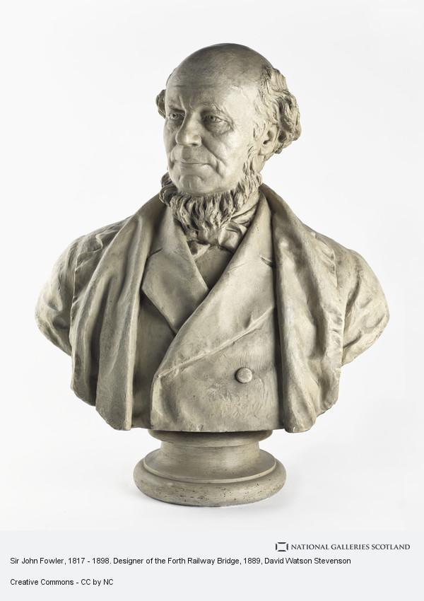 David Watson Stevenson, Sir John Fowler, 1817 - 1898. Designer of the Forth Railway Bridge