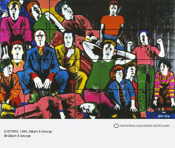 Gilbert & George, EXISTERS (1984)