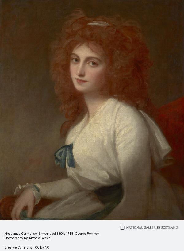 George Romney, Mrs James Carmichael Smyth, died 1803