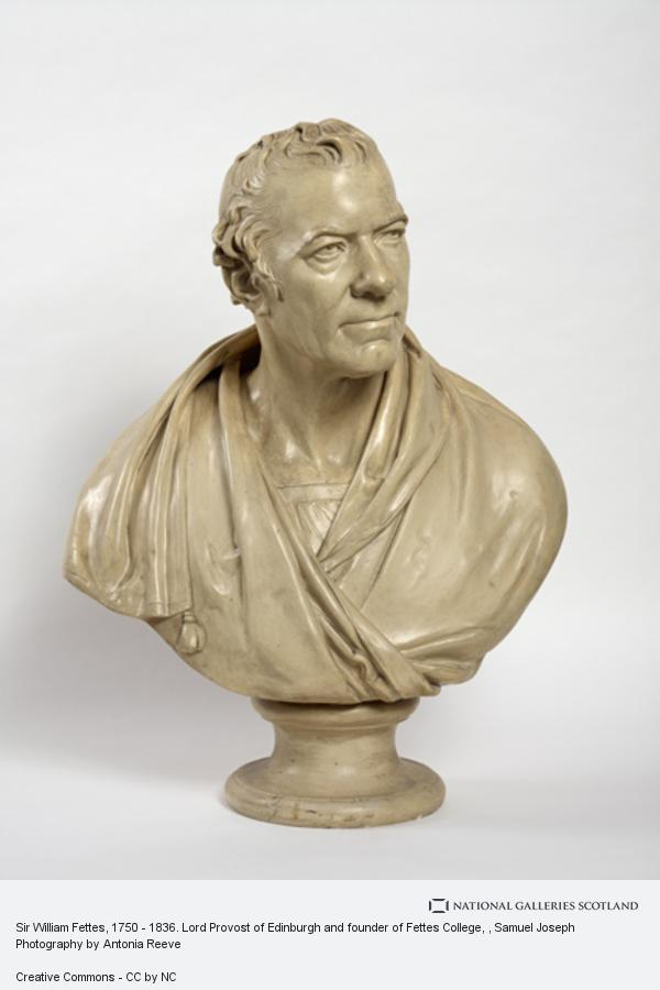 Samuel Joseph, Sir William Fettes, 1750 - 1836. Lord Provost of Edinburgh and founder of Fettes College