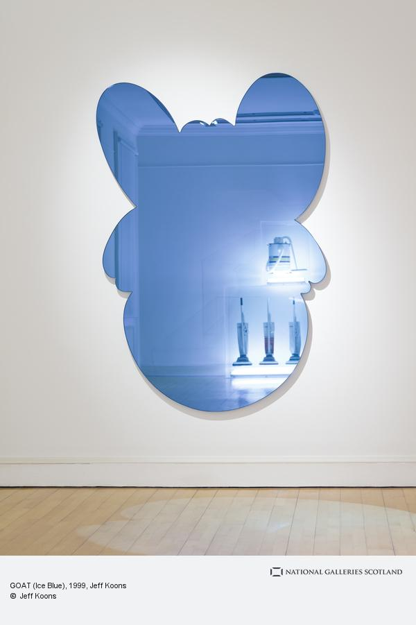 Jeff Koons, GOAT (Ice Blue) (1999)