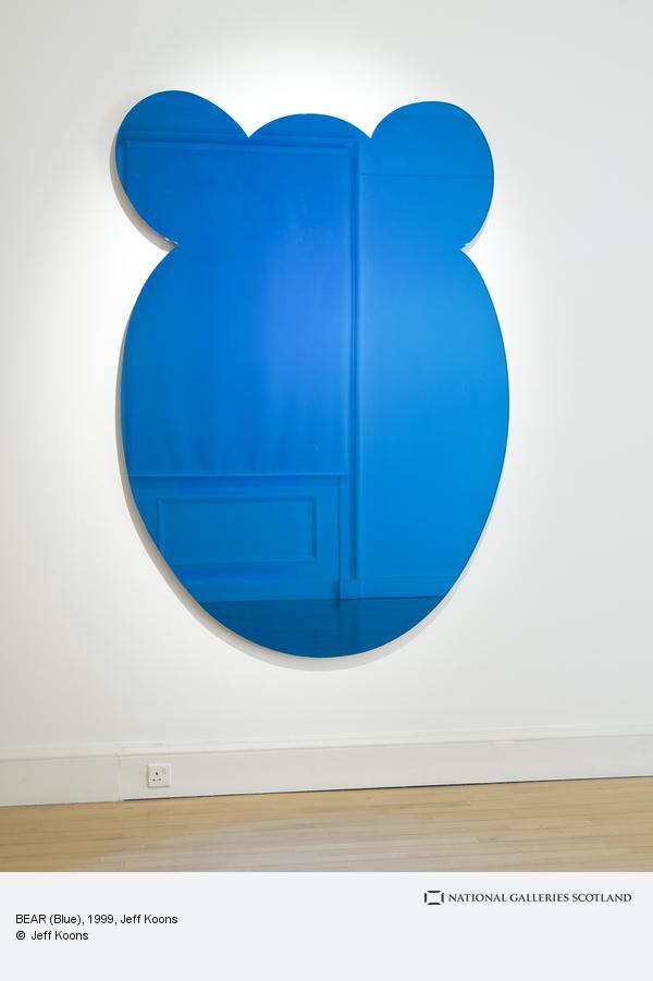 Jeff Koons, BEAR (Blue)