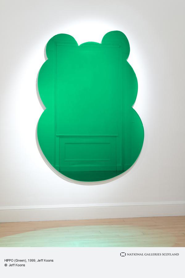 Jeff Koons, HIPPO (Green)