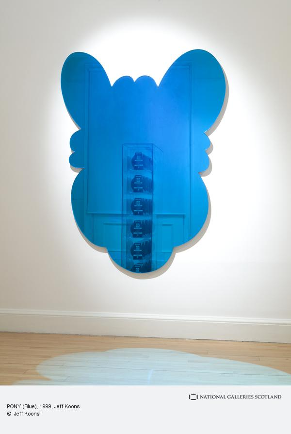 Jeff Koons, PONY (Blue) (1999)