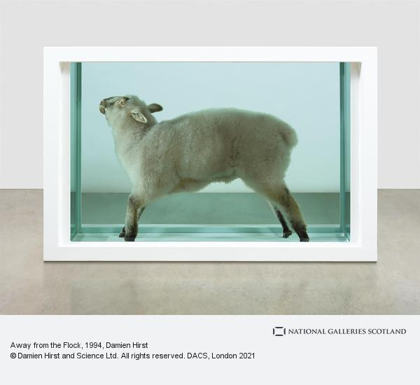 Damien Hirst, Away from the Flock (1994)