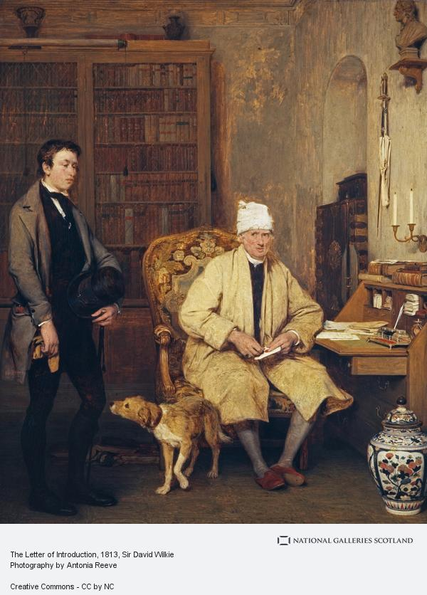 Sir David Wilkie, The Letter of Introduction (1813)