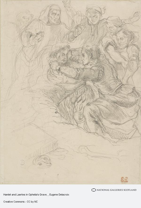 Hamlet And Laertes In Ophelia S Grave National Galleries