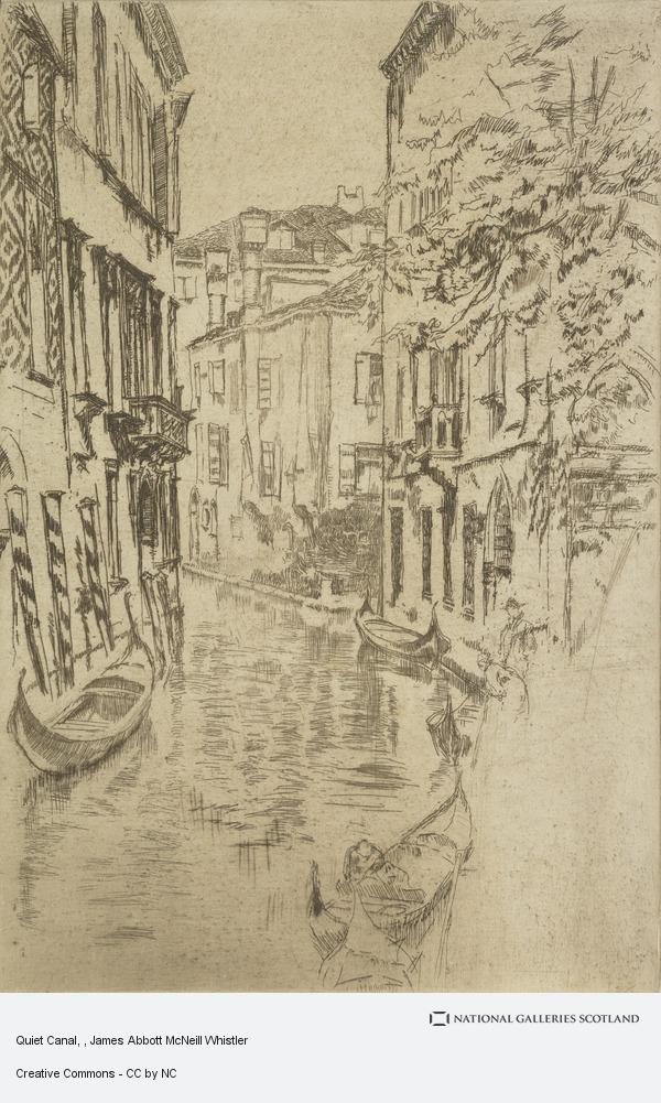 James Abbott McNeill Whistler, Quiet Canal