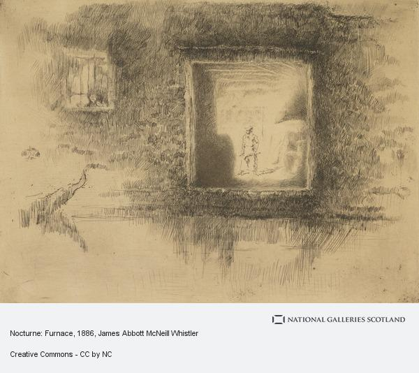 James Abbott McNeill Whistler, Nocturne: Furnace