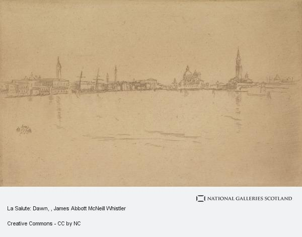 James Abbott McNeill Whistler, La Salute: Dawn