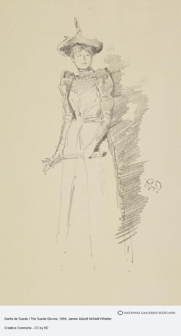 James Abbott McNeill Whistler, Gants de Suede / The Suede Gloves