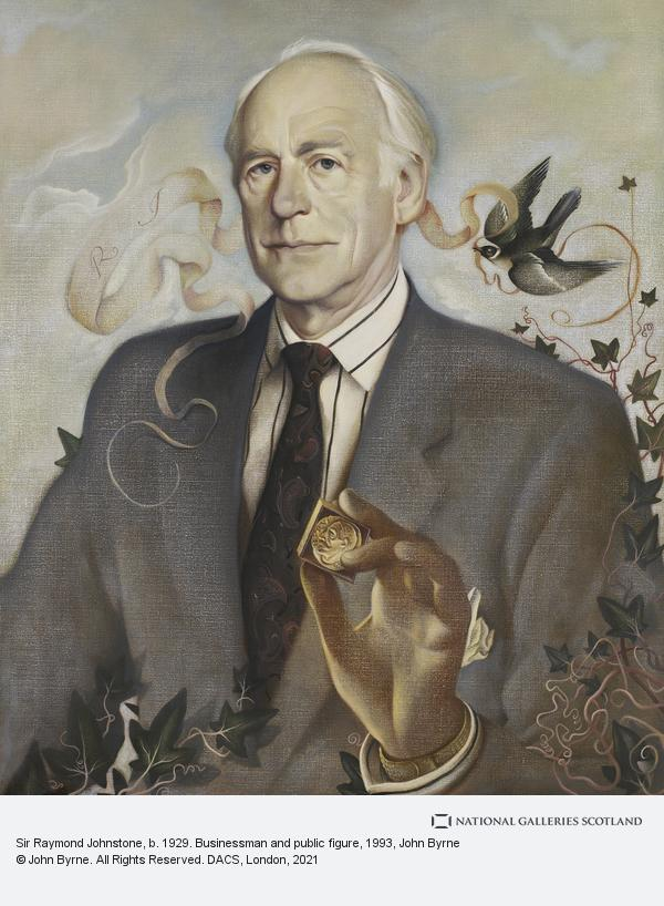 John Byrne, Sir Raymond Johnstone, b. 1929. Businessman and public figure