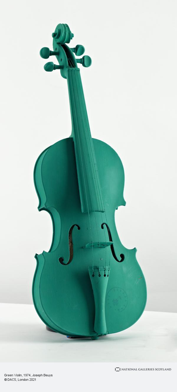 Joseph Beuys, Green Violin