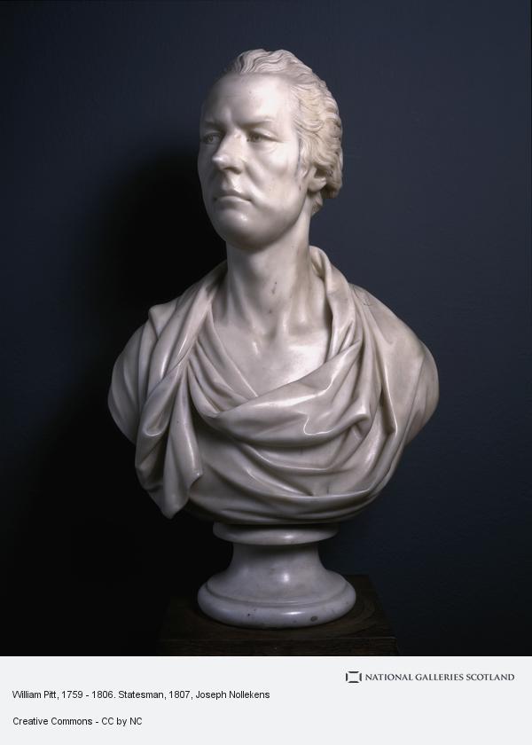 Joseph Nollekens, William Pitt, 1759 - 1806. Statesman