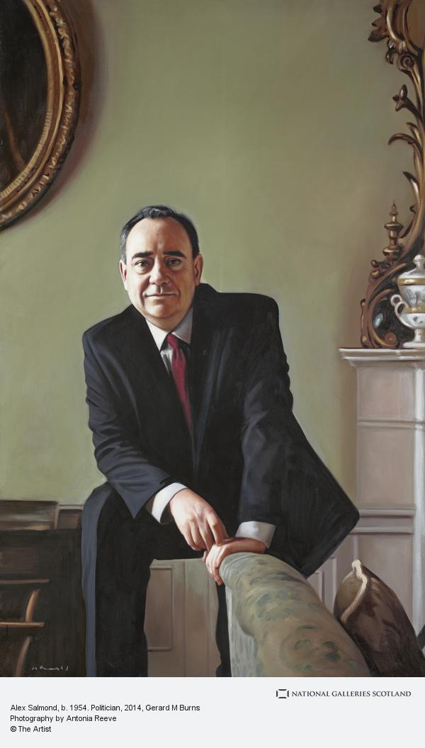 Gerard M. Burns, Alex Salmond, b. 1954. Politician