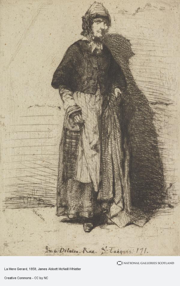 James Abbott McNeill Whistler, La Mere Gerard
