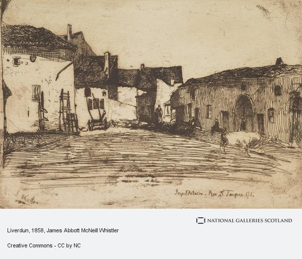 James Abbott McNeill Whistler, Liverdun