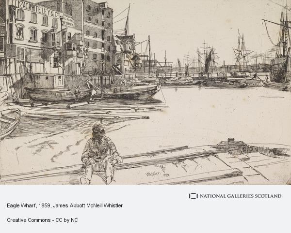 James Abbott McNeill Whistler, Eagle Wharf