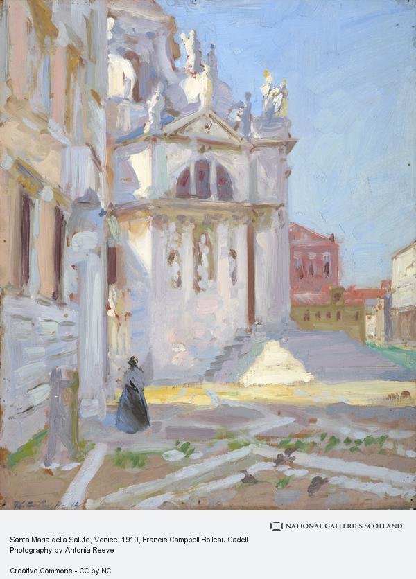 F.C.B. Cadell, Santa Maria della Salute, Venice