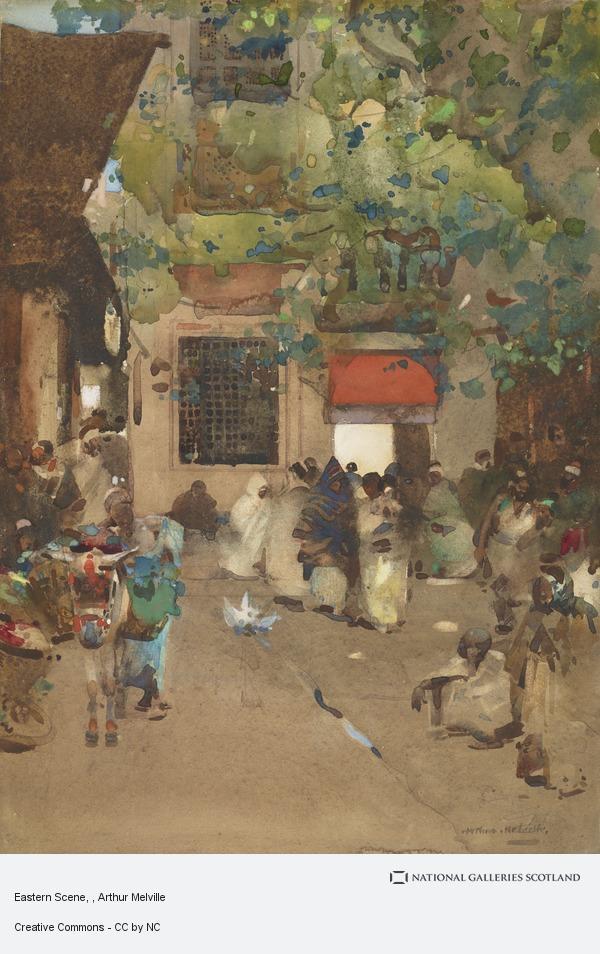 Arthur Melville, Eastern Scene