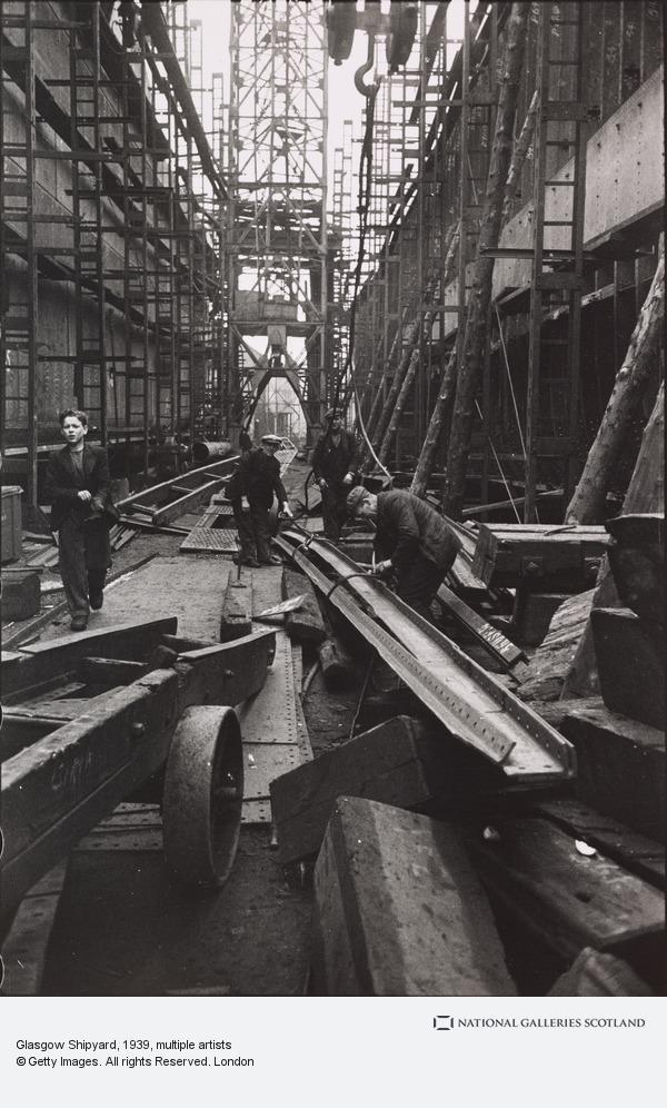 Humphrey Spender, Glasgow Shipyard