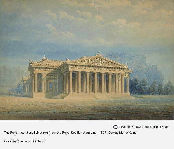 George Meikle Kemp, The Royal Institution, Edinburgh (now the Royal Scottish Academy)